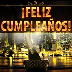 Feliz Dia De Gracias >> Feliz Cumpleaños - champagne