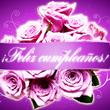 Feliz Cumpleaños -rosas