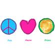 Paix, Amour, Crêpes