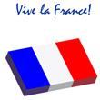 Vive la France et les pommes de terre frites!